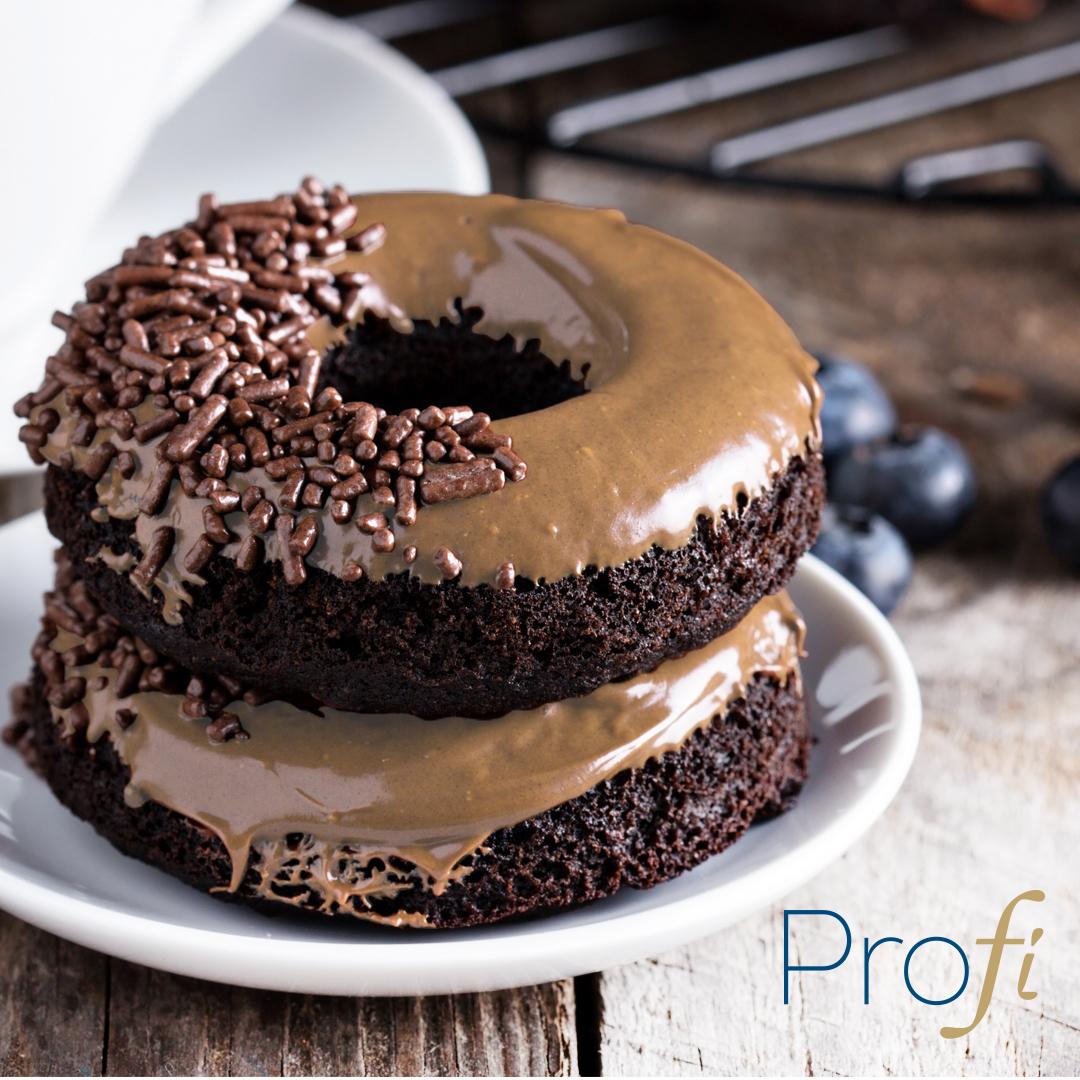 Chocolate, Maple Glazed Protein Donuts