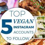 vegan instagram